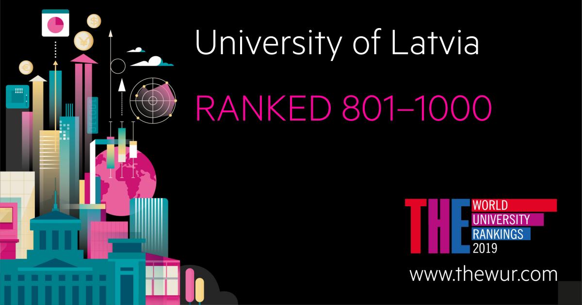University of Latvia - among the 5% of world's best universities